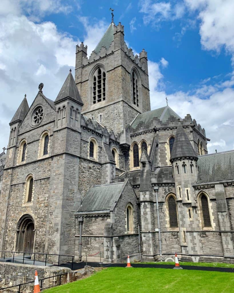 Christ Church Cathedral, the oldest building in Dublin