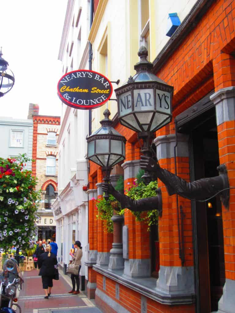A visit to the Temple Bar neighborhood is a must with a day or two in Dublin