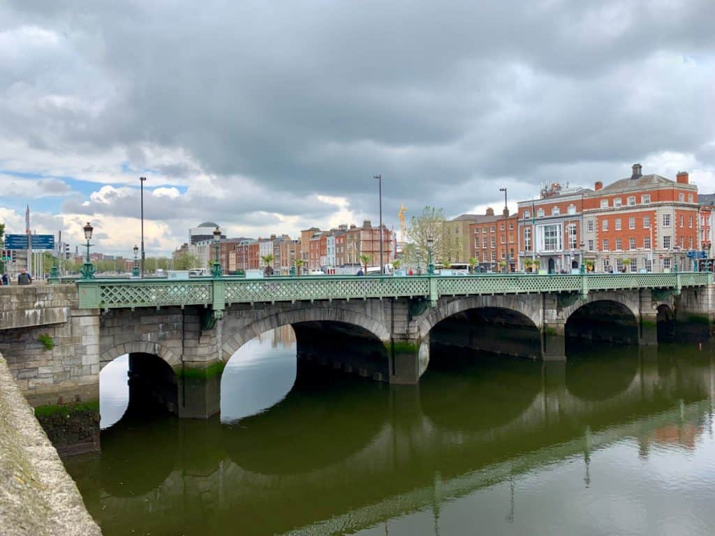 A view of Grattan Bridge - 2 days in Dublin
