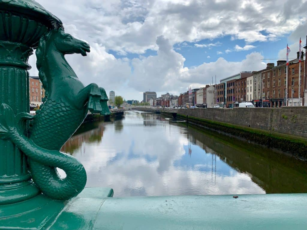 Grattan Bridge is my favorite in Dublin - 2 days in Dublin itinerary