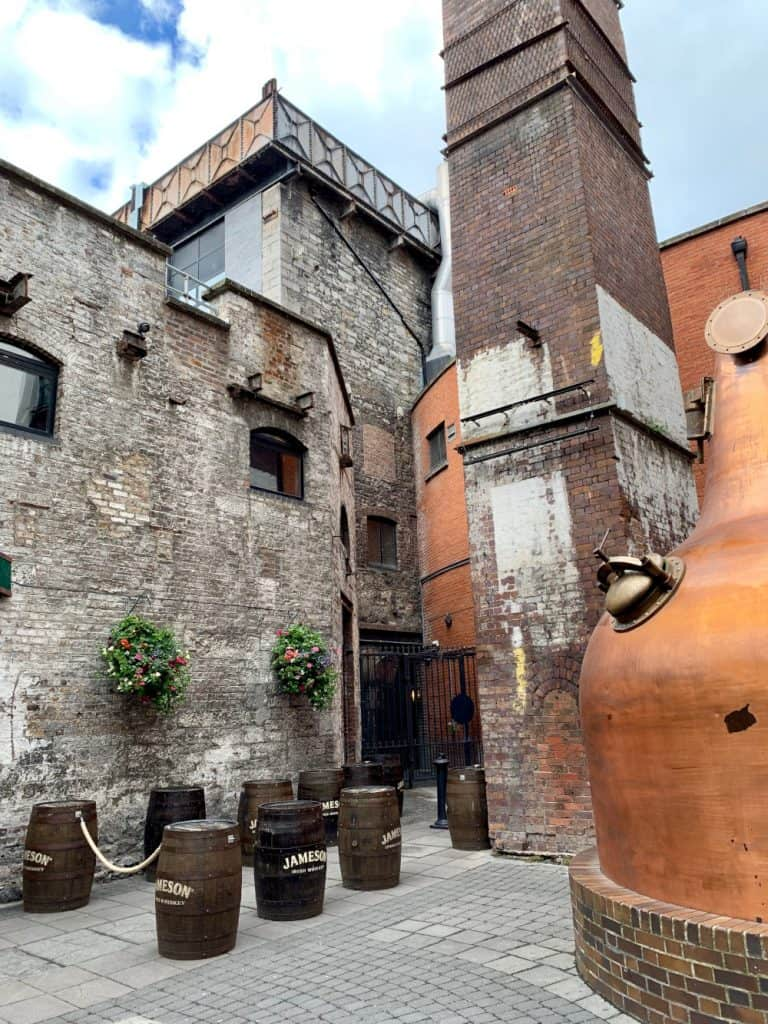 Visiting the Jameson Distillery Tour - things to do in Dublin