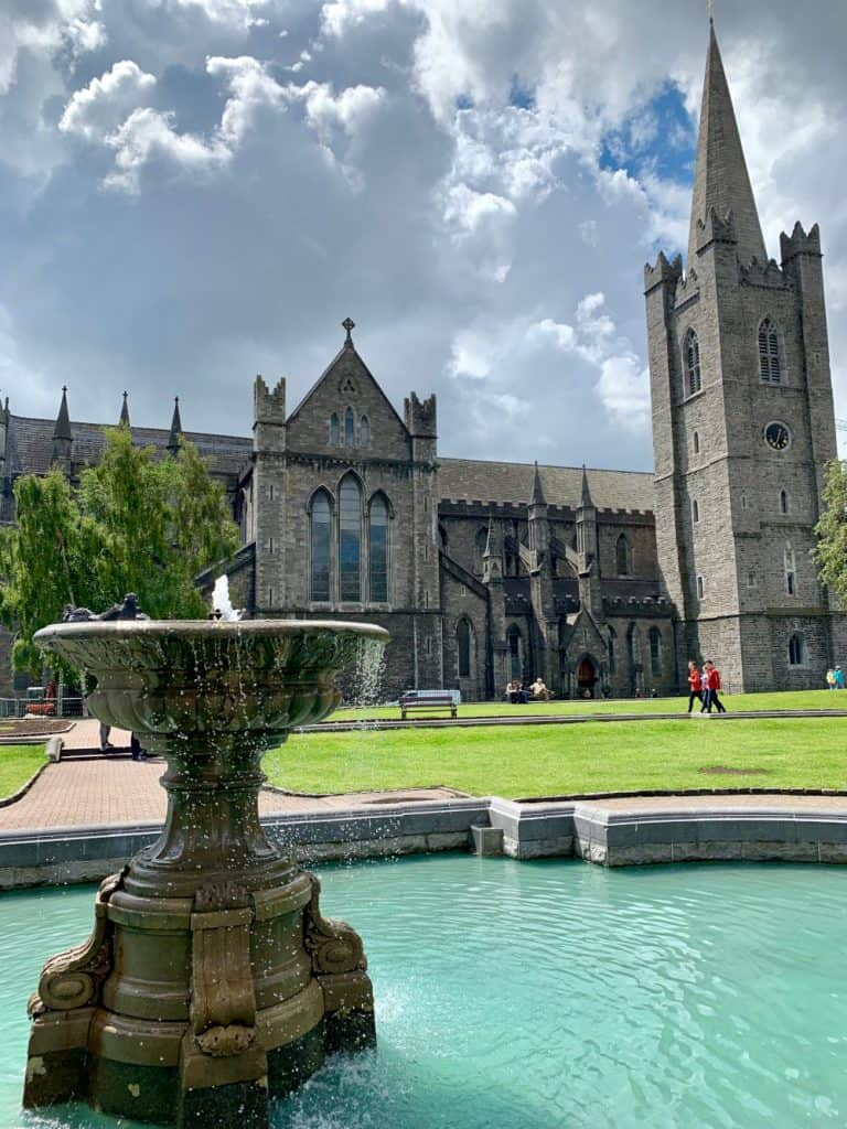 St. Patrick's Cathedral is a must-see with 1 or 2 days in Dublin