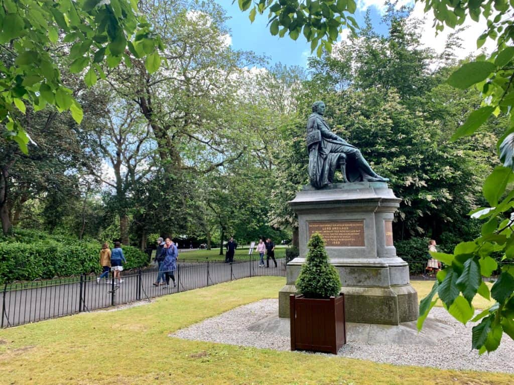 St. Stephen's Green - a must with 2 days in Dublin