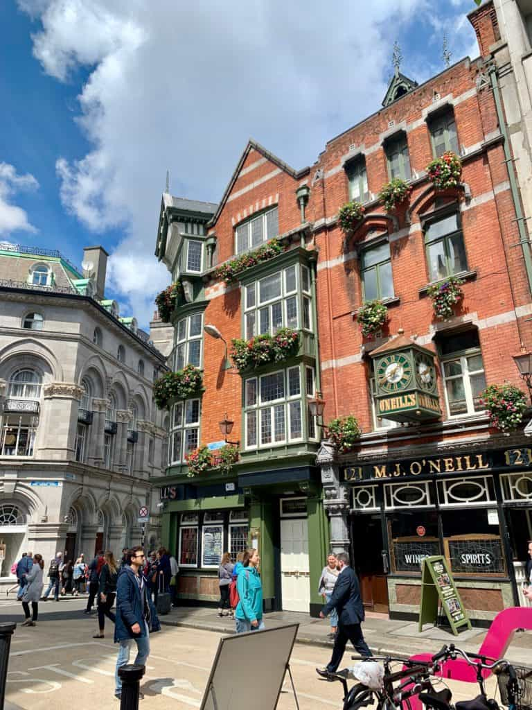 What to do with 1 or 2 days in Dublin - wandering the streets