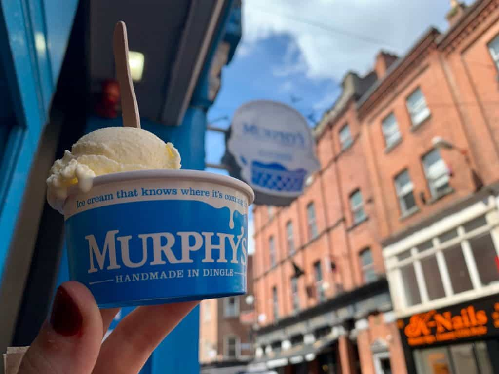 a sweet snack at Murphy's - where to eat in Dublin