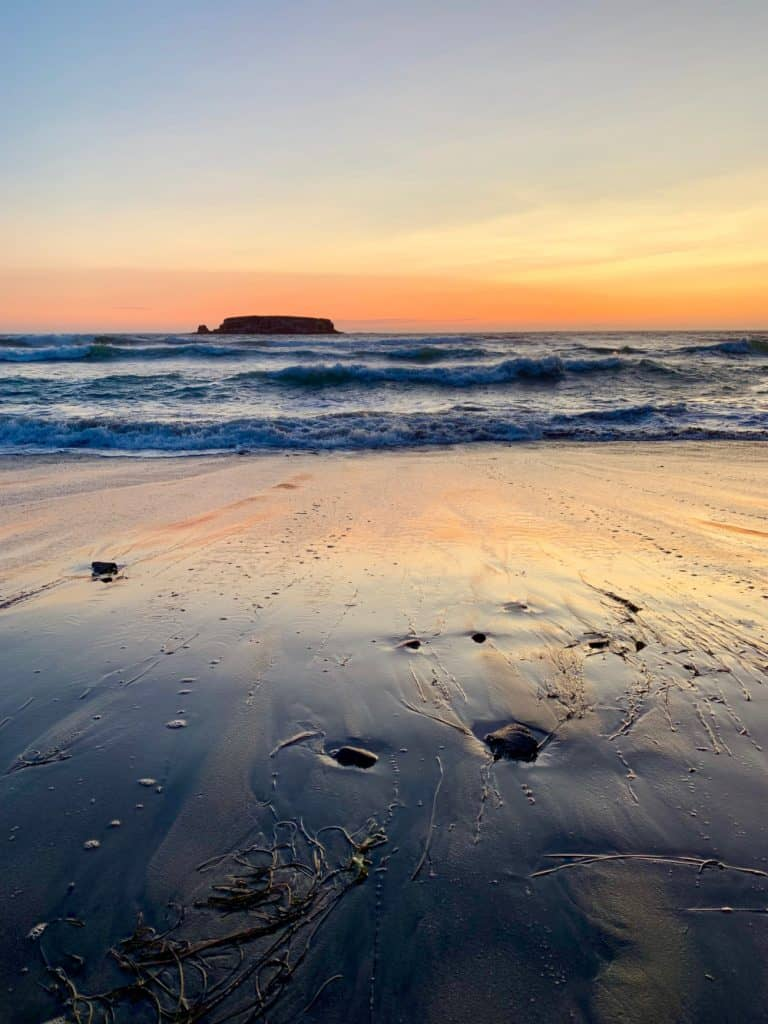 Sunset on Oregon's coast will blow your mind