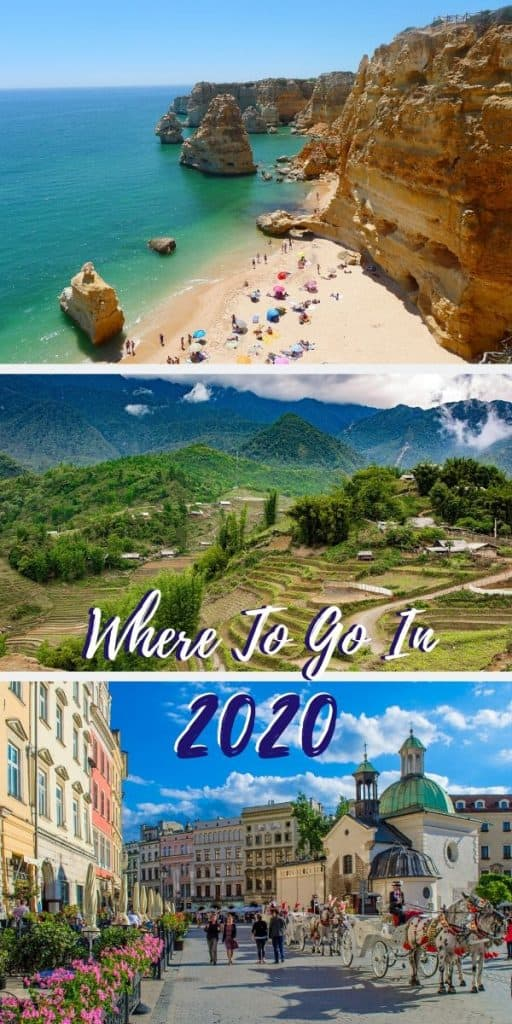 Where to Travel in 2020 | Here are 10 places to visit in 2020 that will fuel your wanderlust...from the beaches of Cyprus to the valleys of Laos, and from the streets of Krakow to the spiky Perito Moreno glacier. #traveltips #2020travel