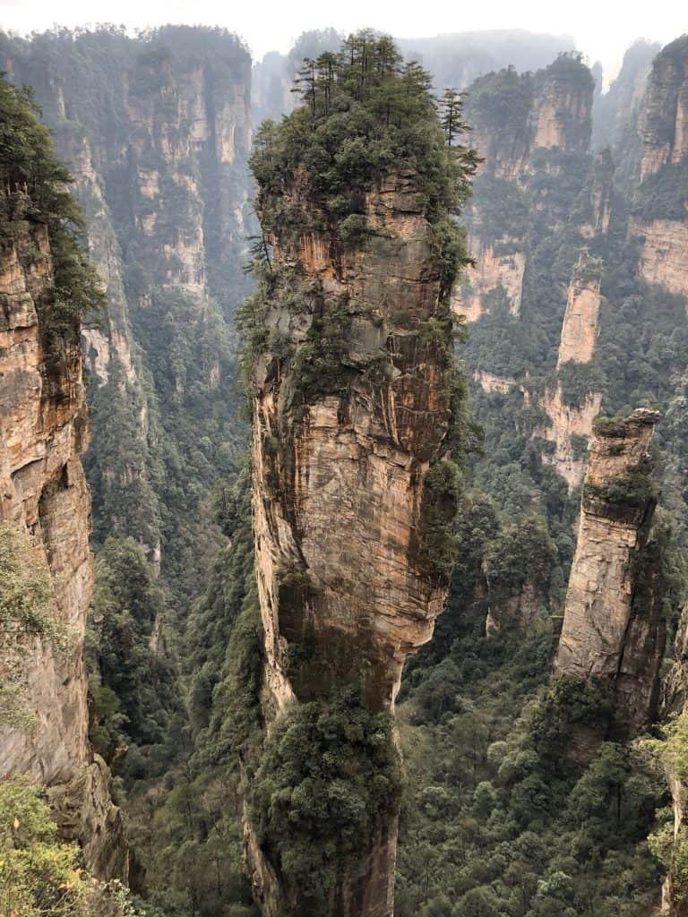 China's Zhangjiajie Mountains are one of my top places to visit in 2020 | where to travel in 2020 | One Girl, Whole World
