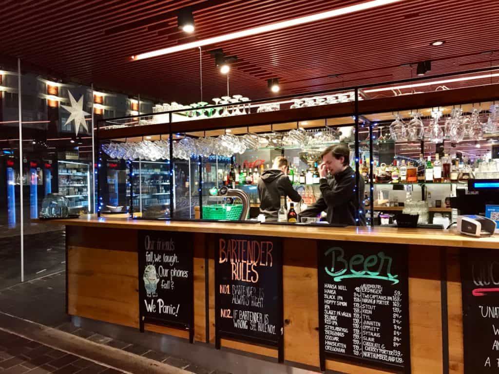 Where to eat & drink in Bergen - the fish market bar
