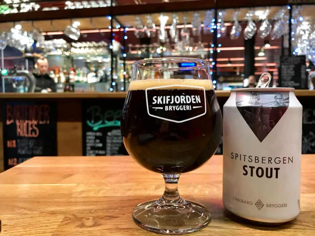 Where to eat & drink in Bergen - a delicious local stout at the fish market bar
