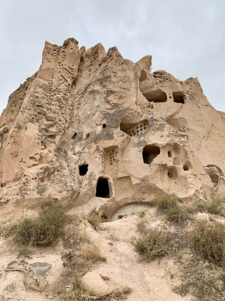 Uchisar Castle - things to do in Cappadocia