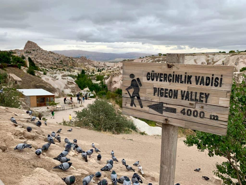 The aptly named Pigeon Valley in Cappadocia, Turkey