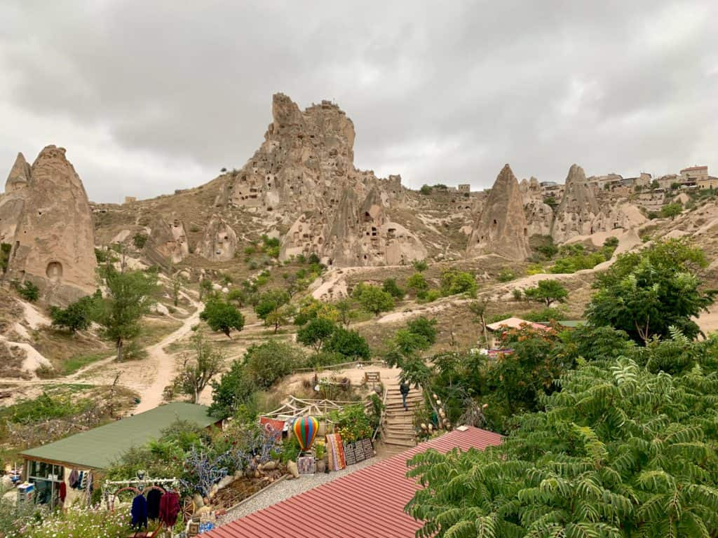 View at the Panoramic Viewpoint in Cappadocia