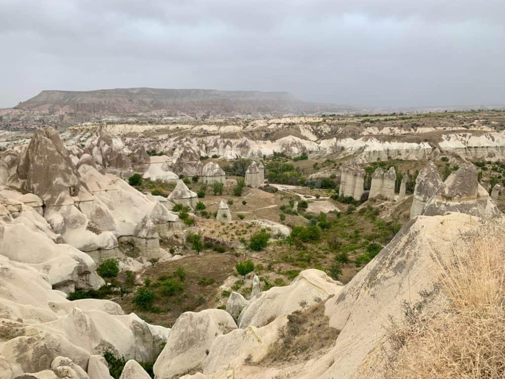 The crazy rock formations of Love Valley, Cappadocia