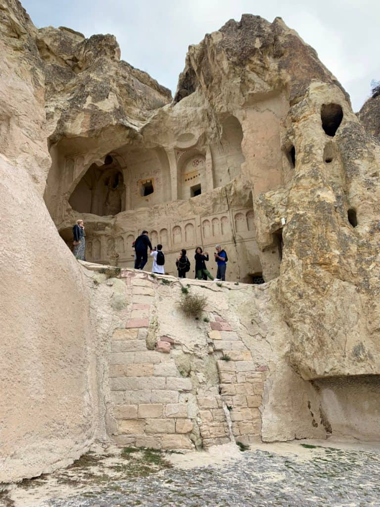 The amazing caves and carvings of the Goreme Open Air Museum in Cappadocia