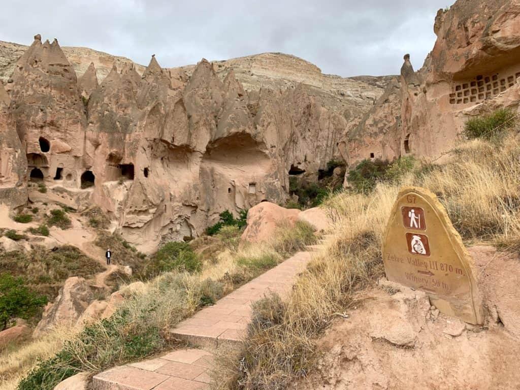 Walking around Zelve in Cappadocia, have it to myself