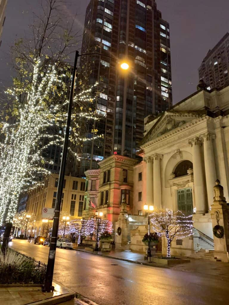 Winter in Chicago - Time Out Market is a nice cold weather option!