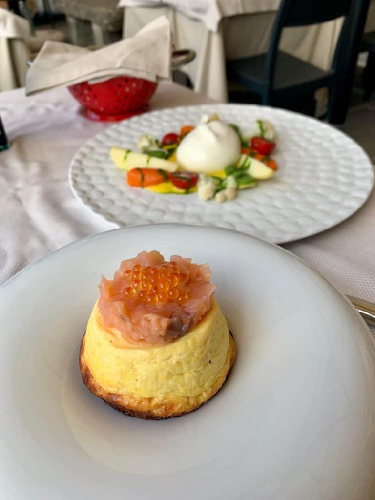 A phenomenal meal at La Logetta in Cortona, Italy