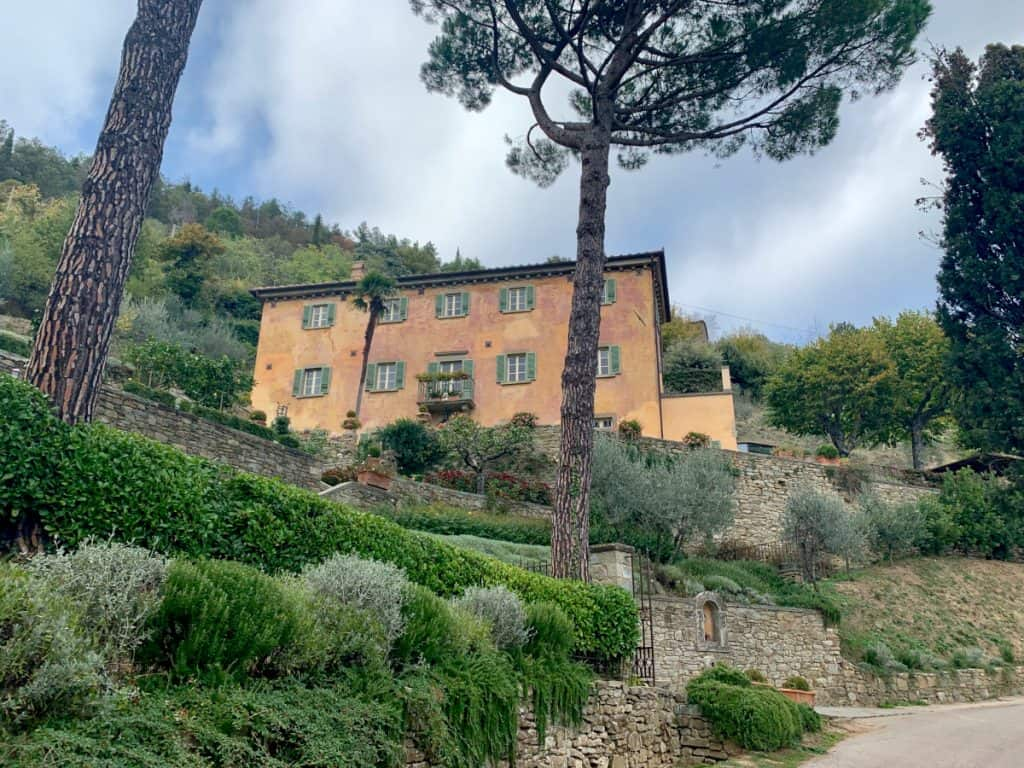 Villa Bramasole, famous for Under the Tuscan Sun