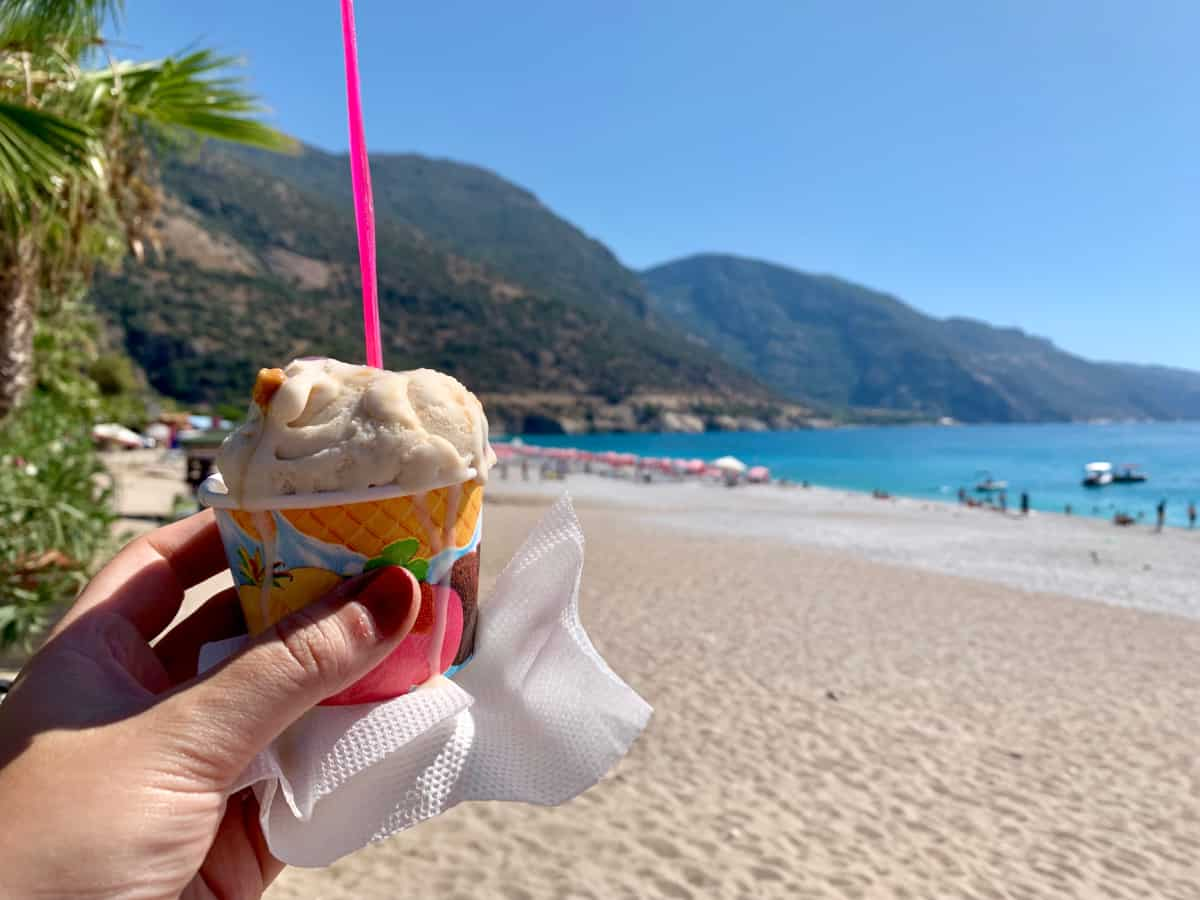 Oludeniz Beach - visiting the Turquoise Coast was a must on my 7-day Turkey itinerary