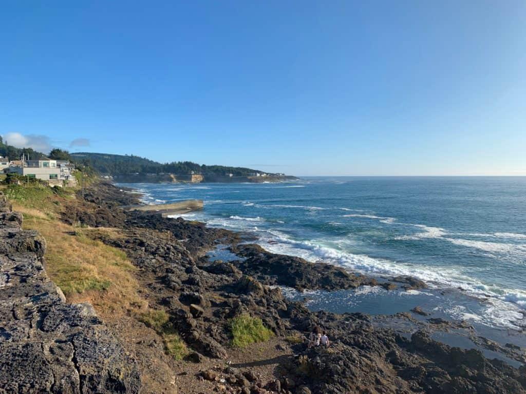 Beautiful Depoe Bay - a must on an Oregon coast road trip itinerary