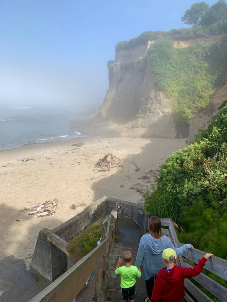 Spending time at the beach is a must on an Oregon coast road trip itinerary
