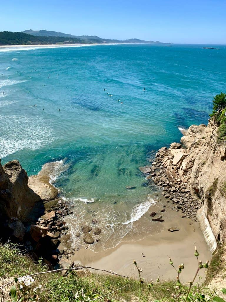 Gorgeous Beverly Beach - a must on an Oregon coast road trip itinerary