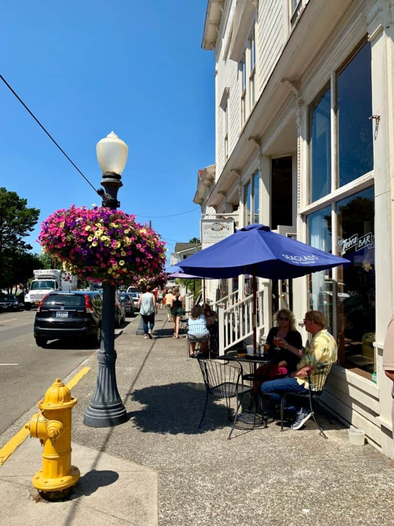 Adorable Florence - what to do on an Oregon coast road trip itinerary