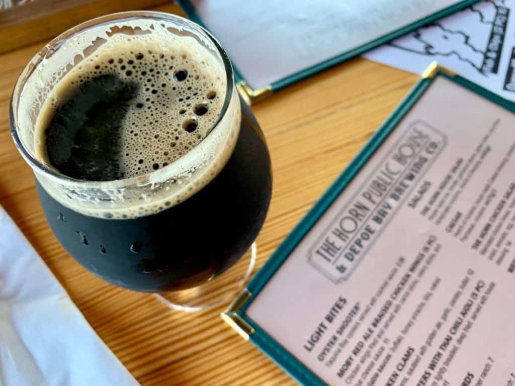 The Horn Public House in Depoe Bay - a must on an Oregon coast road trip itinerary