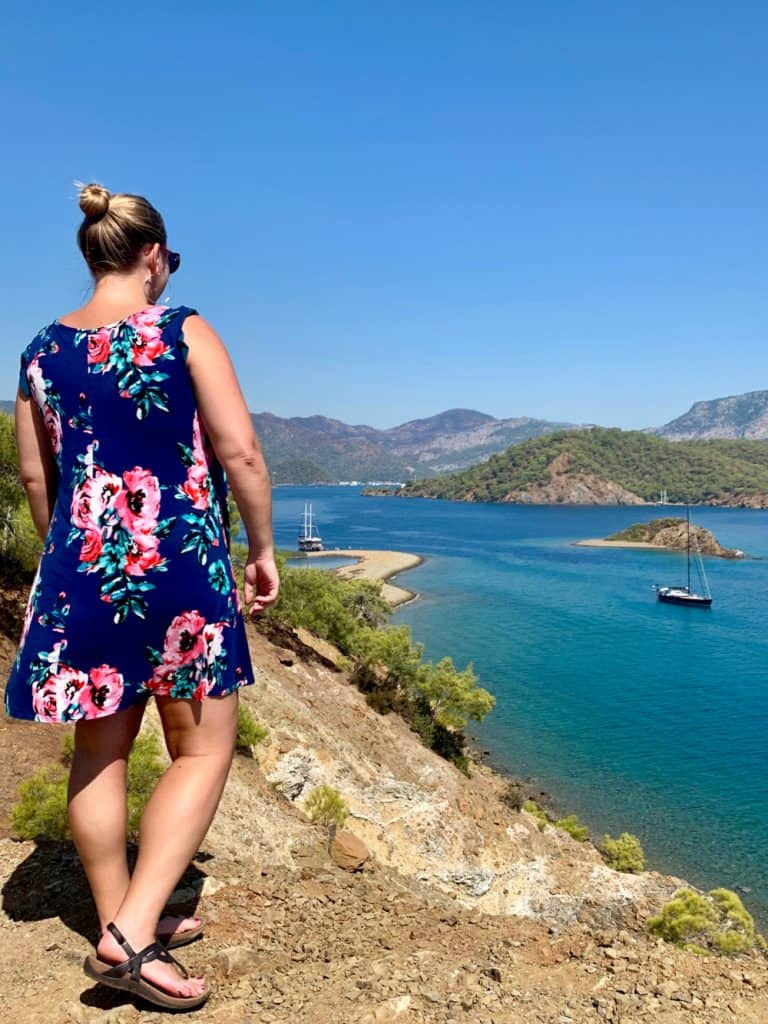 Solo female travel in Turkey - a 2-day boat trip on the Turquoise Coast