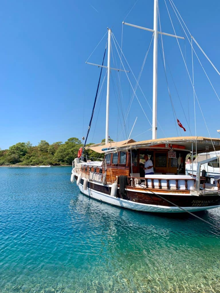 A 2-day boat trip in Turkey on the Nirvana S - rented a boat & captain on Airbnb
