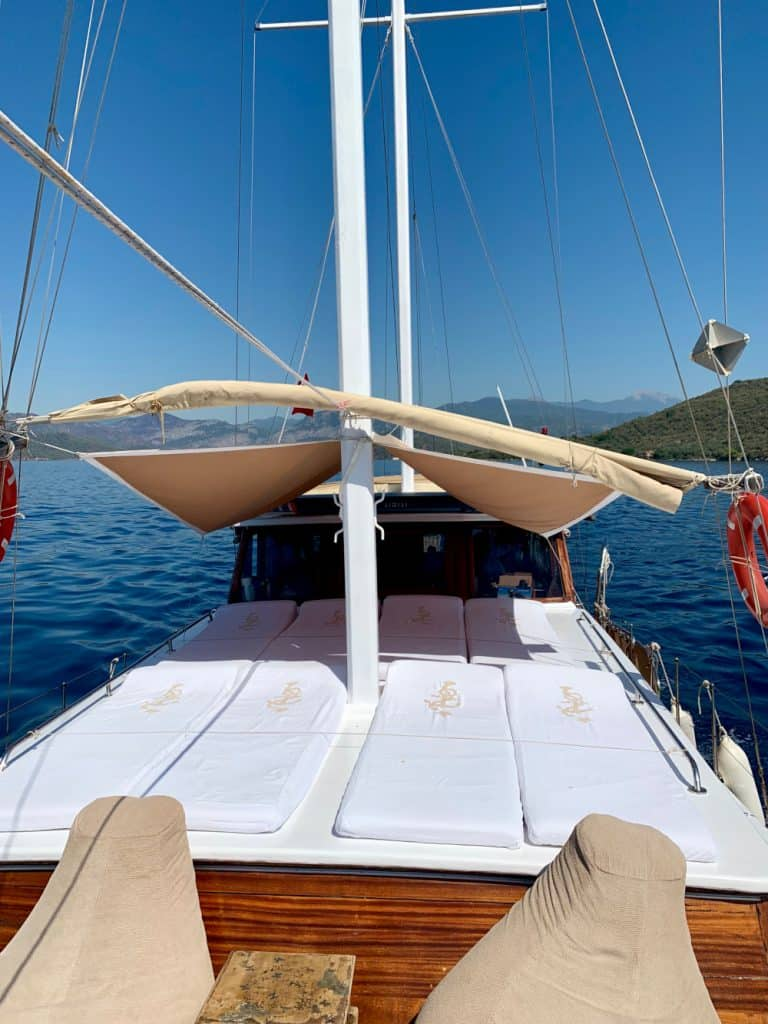 I love being out on the water! A 2-day boat trip in Turkey on the Nirvana S