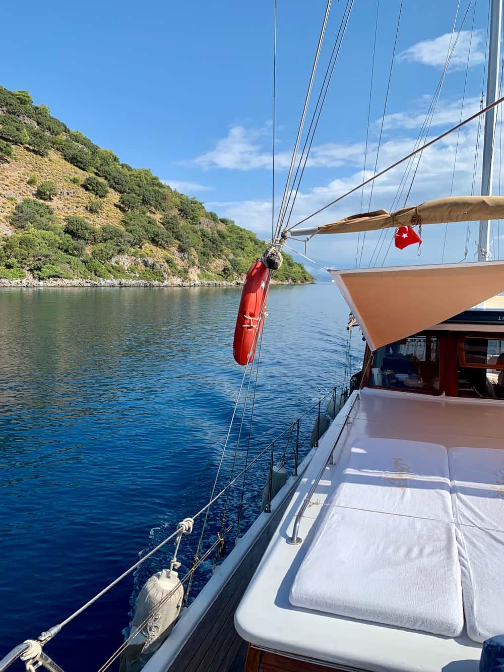 For me, a few days on a boat was a must for my 7-day Turkey itinerary