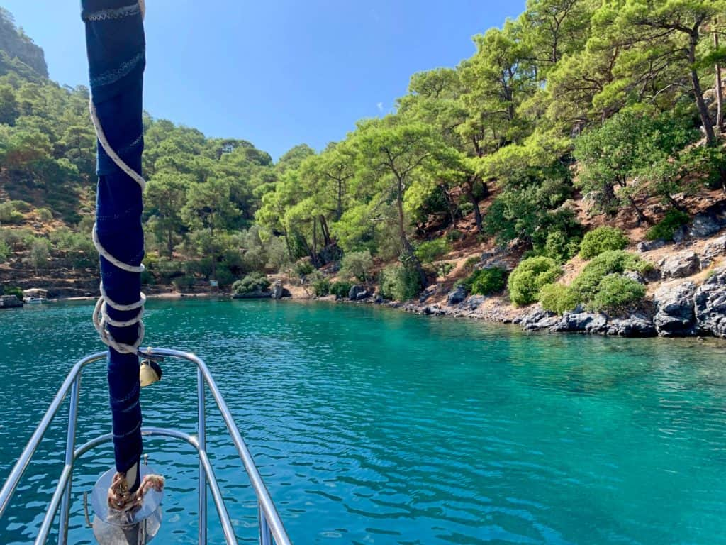 Sailing In Turkey 2 Days On The Turquoise Coast One Girl Whole