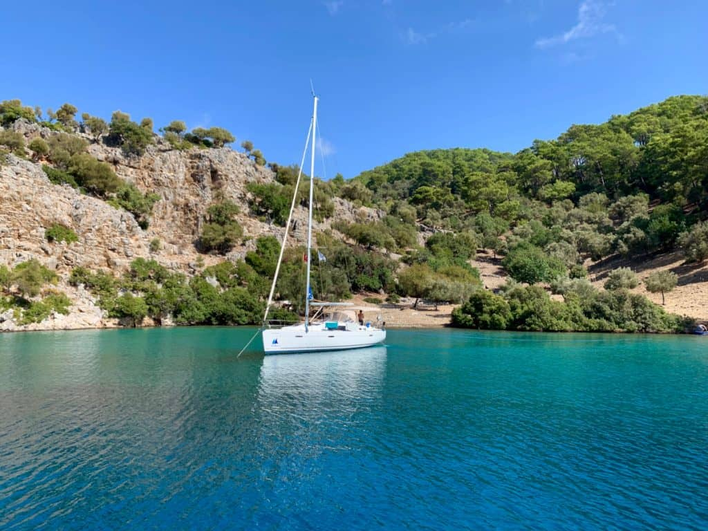 Sailing in Turkey is the perfect way to get away from it all