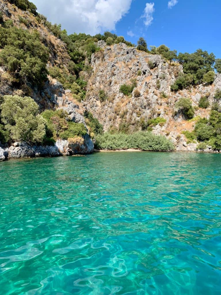 Falling in love with the aqua water - a 2-day boat trip in Turkey
