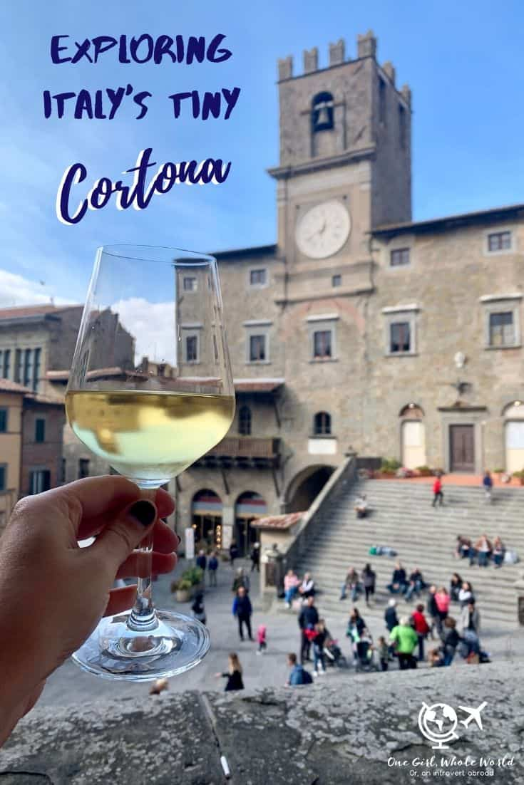 A Guide to Cortona, Italy   Exploring the charm of one of Italy's quintessential hill towns! Ancient Tuscan hill town Cortona is a must-visit, full of amazing history, food, incredible views, and more! Here's everything you need to know to plan your own visit, taken from my 8-day stay in this adorable town. #hilltown #tuscany #italy #cortona