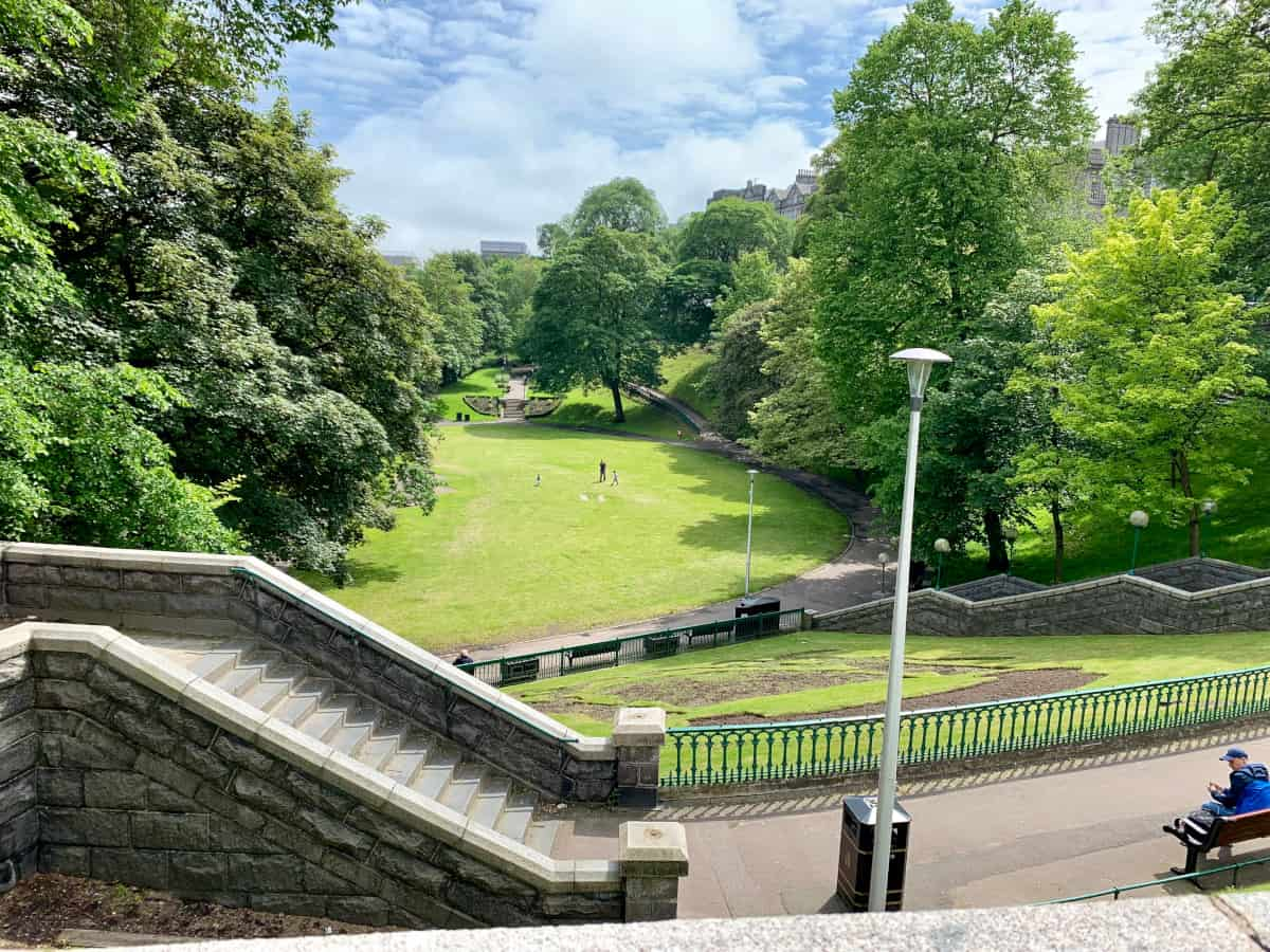 Union Terrace Gardens - things to do in Aberdeen