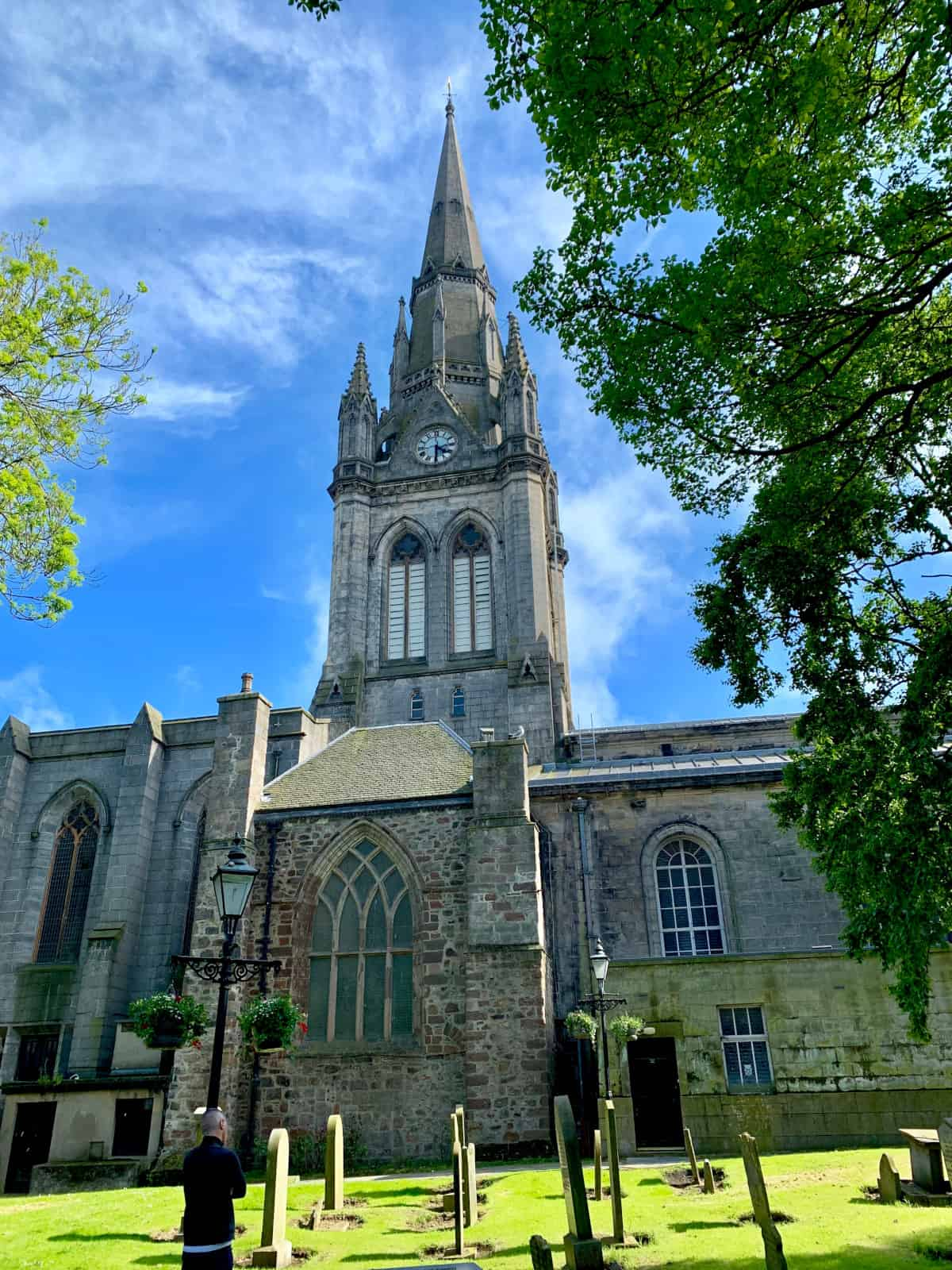 Beautiful St. Nicholas Kirk in the heart of Aberdeen