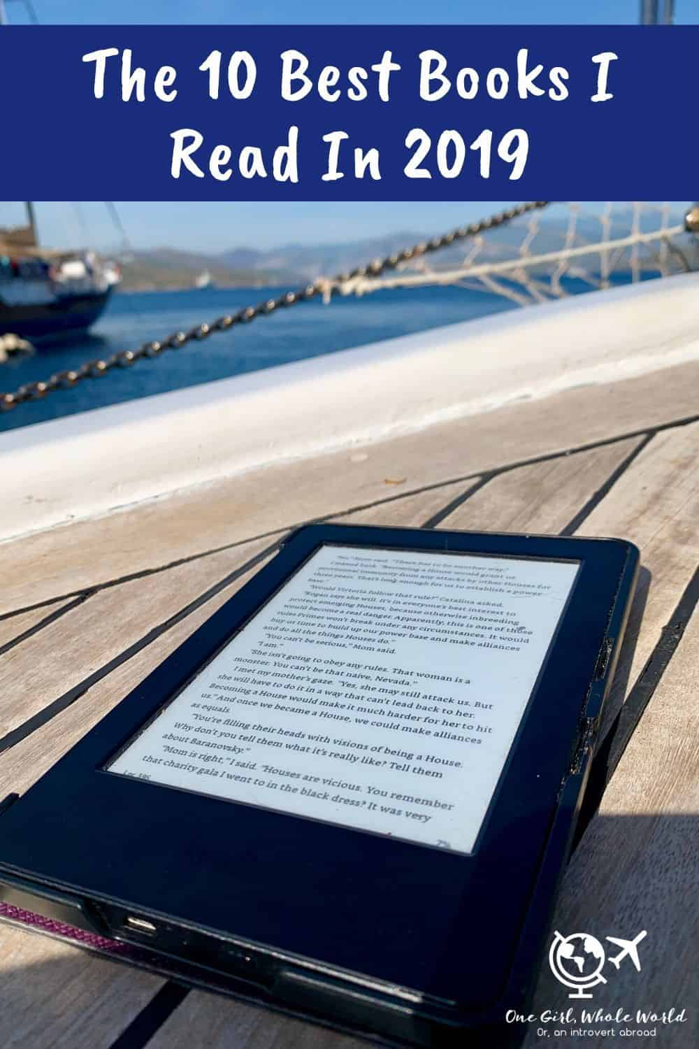 10 Best Books I Read in 2019 | From fascinating non-fiction to charming romances, I share some of my faves from last year. Best books 2019. #bestbooks #readinglist
