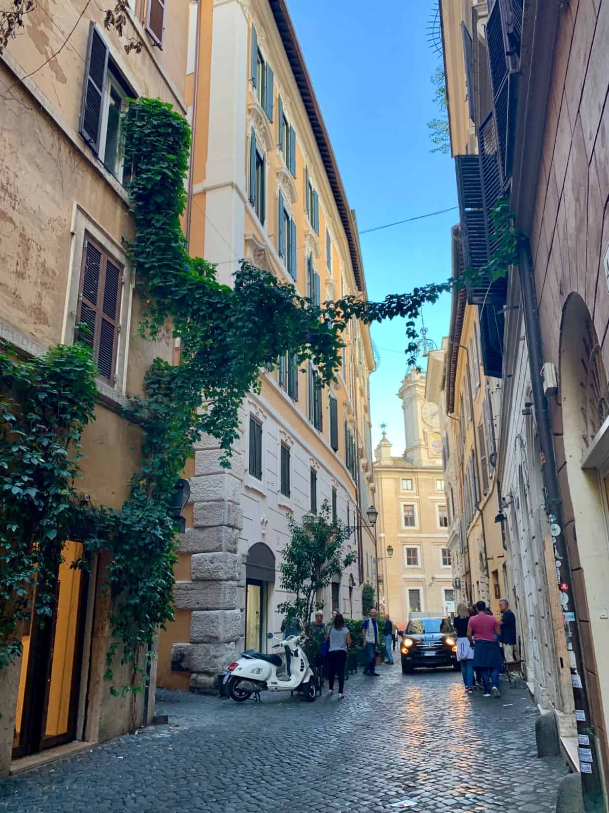 Don't forget to seek out the little details and alleyways in Rome - the best photo spots in Rome