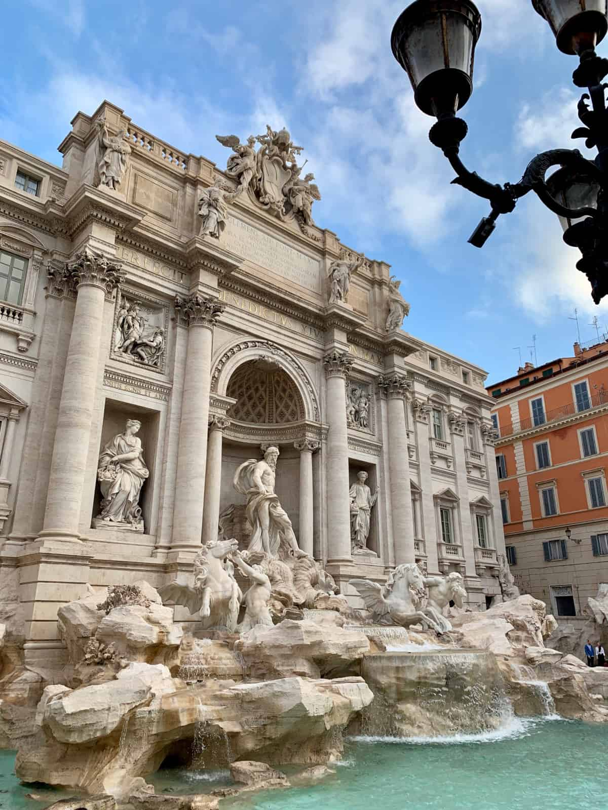 The Trevi Fountain...rightfully famous and one of the best photo spots in Rome