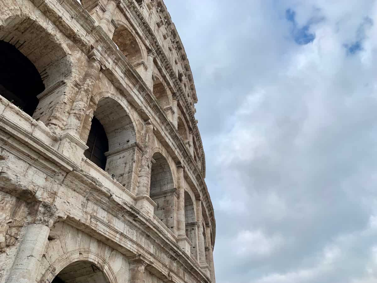 The Colosseum is one of the best photo spots in Rome...if you look up!