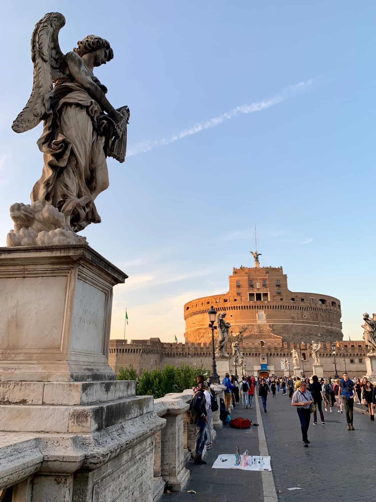 I'm obsessed with photographing the Castel Sant'Angelo from all angles and times of day