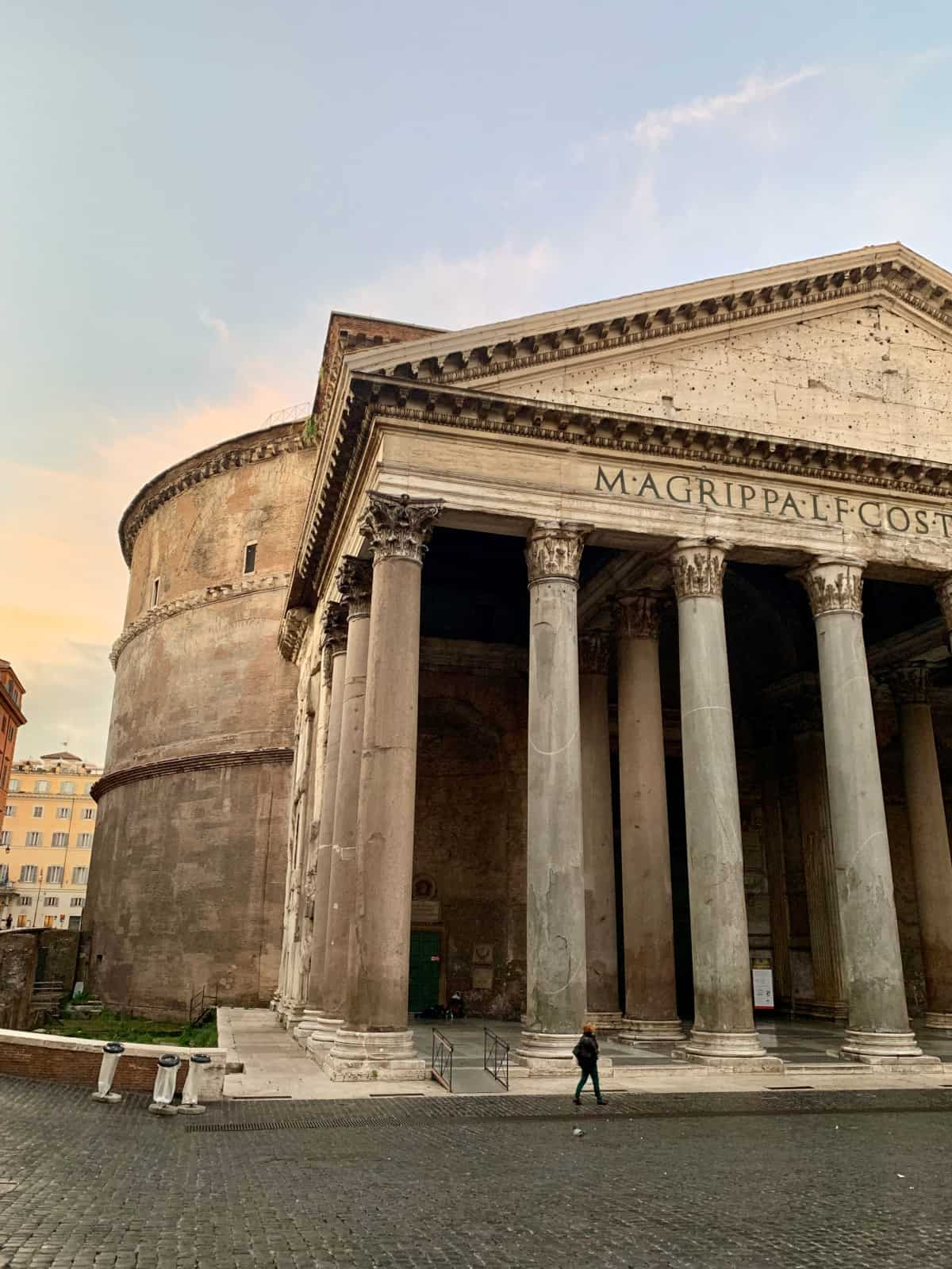 Sunrise at the Pantheon...14 of the best photo spots in Rome, best angles, and times
