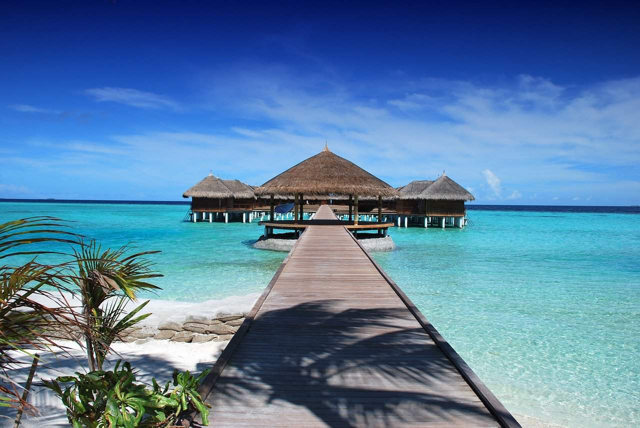 Staying in an overwater bungalow is on my world travel bucket list