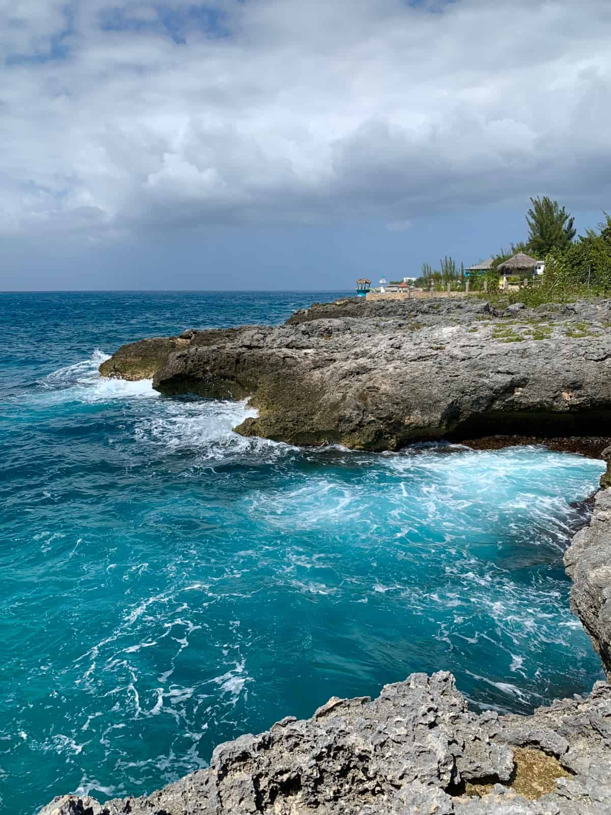A little different from the beach, but I loved the cliffs of Negril's West End