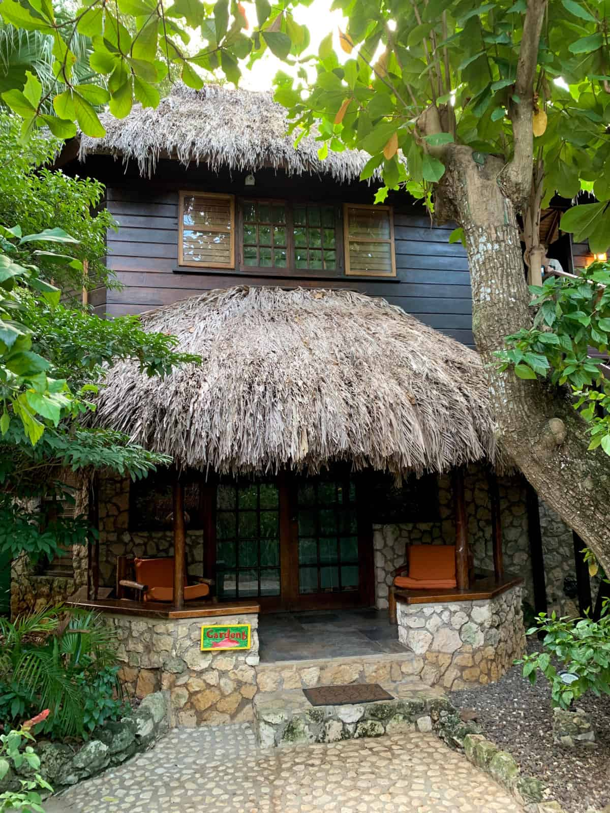 My cute bungalow at Tensing Pen Resort in Negril, Jamaica