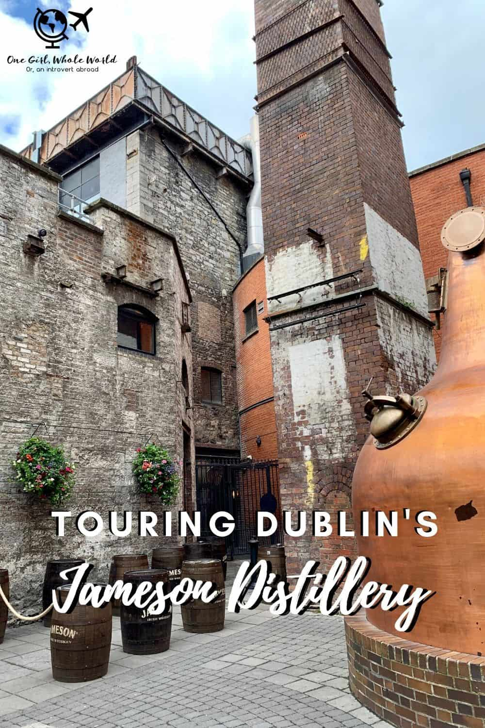 What It's Like Touring Dublin's Jameson Distillery | Many people will tell you that a Jameson tour is a must on your Dublin visit. I share what my experience was like with the tour, the bar, the tour guide, and more...what to expect if you visit Jameson. Things to do in Dublin, Dublin itinerary ideas, distillery tours in Ireland #jameson #dublin #ireland #distillerytour
