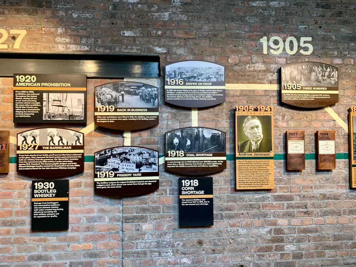History of Jameson Distillery